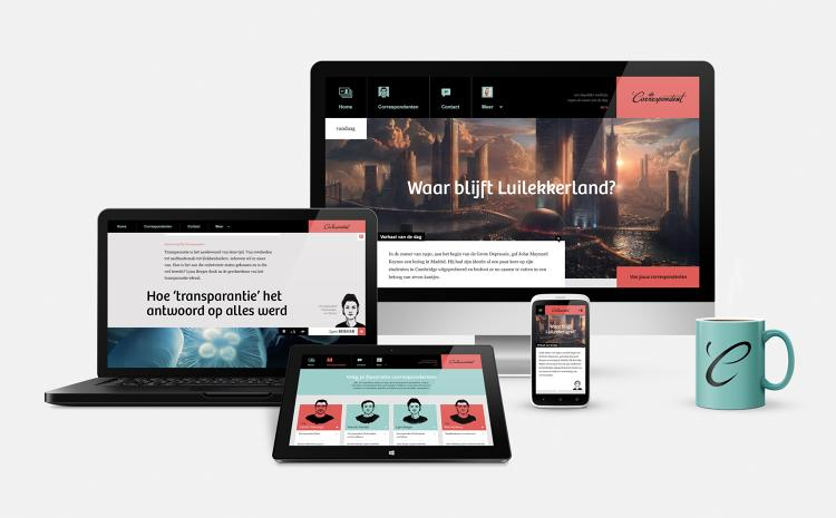 <p>De Correspondent is a digital-only publication built as a single responsive website. There are no dedicated apps.</p>