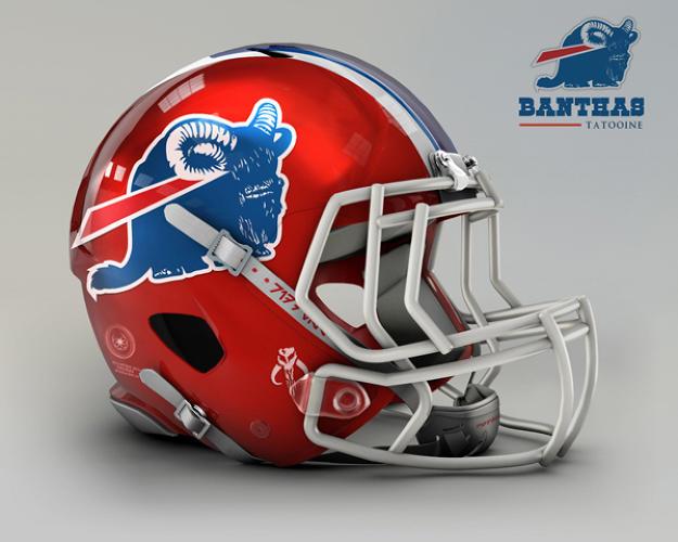star wars nfl helmet team bills buffalo helmets every imagined re teams football congratulations chiefs banthas tatooine wattos dolphins nal