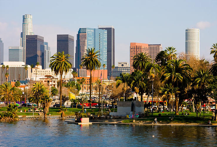 <p>THE MOST PLEASANT PLACE TO LIVE: Los Angeles, California, gets 183 pleasant days a year. Rub it in, why don't you.</p>