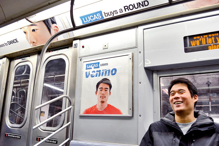 <p>Lucas Chi, the Venmo software engineer who is the face of the campaign, is taking it in stride: &quot;I can't really look at the ads for too long without laughing. It doesn't distress me but looking at them does make me feel really self-conscious.&quot;</p>