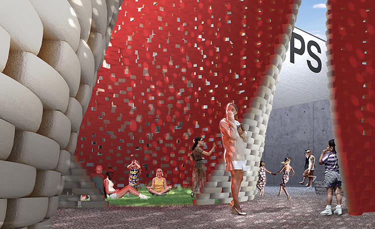 <p>It will help create a cool micro-climate for pedestrians in searing city heat.</p>