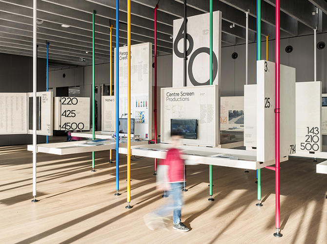 <p>This was the team's conceptual touchstone throughout the project: The Olympics are, in many ways, one big relay.</p>