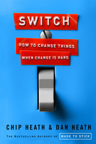 <p><strong><em>Switch: How to Change Things When Change Is Hard</em> By Chip Heath and Dan Heath</strong></p>  <p>Change is hard enough; you don't have to beat your habits into submission. The Heaths explain that our default setting is to look at the negative--but positivity gets results. Instead of asking yourself how to fix what you're doing wrong, ask yourself how you can expand what you're doing right.</p>