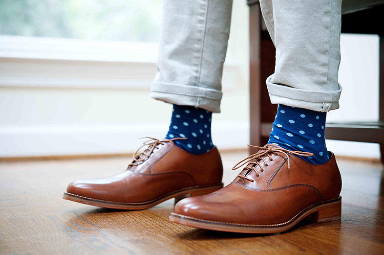 <p>Nice Laundry is a newly launched company that sells stylish socks in packs of six.</p>