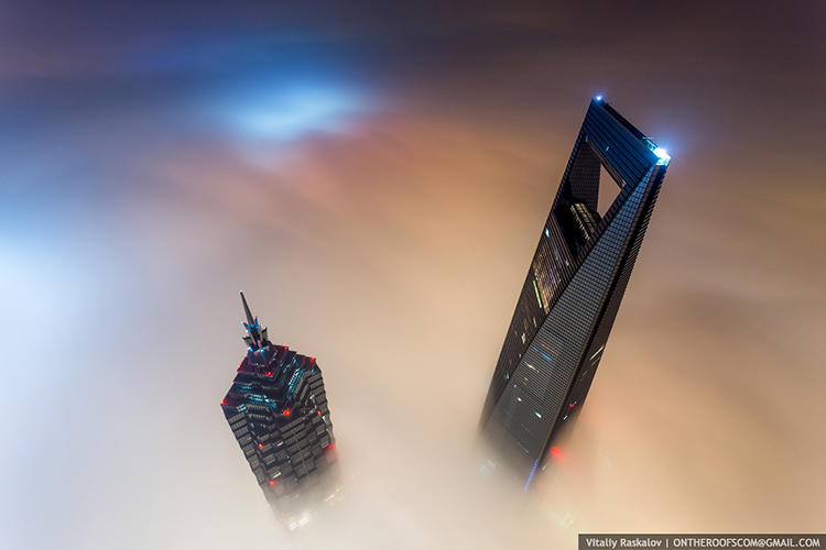 <p>They recent went to China to explore Gensler's under-construction Shanghai Tower, the world's second-tallest building.</p>