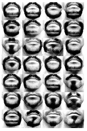 <p>With Alphabeard Beardface, New York-based designer <a href=&quot;http://cargocollective.com/michaelallen&quot; target=&quot;_blank&quot;>Michael Allen</a> takes the communicative powers of facial hair to the next level.</p>