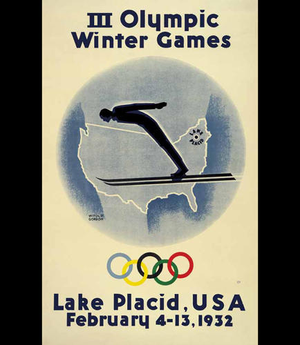 <p>1932 Winter Olympics – Lake Placid, United States</p>