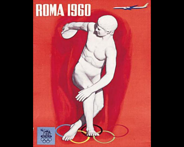 <p>1960 Summer Olympics – Games of the XVII Olympiad – Rome, Italy</p>