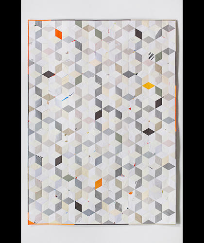 <p>His work was recently featured in <em>Alt Quilts</em>, an exhibit at the American Folk Art Museum.</p>