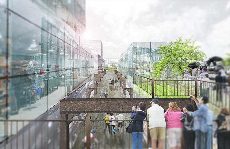 <p>Since turning it back into a railway would be difficult and expensive, nonprofits are pushing to create a new park instead.</p>
