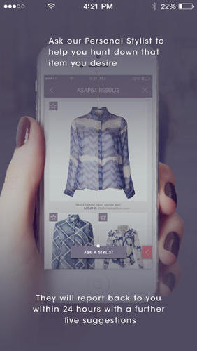 <p>Upload a picture of the item you want and search it by category. The app scans thousands of listed items, comparing fabrics and designs, and delivers results most similar to your item, with links to where you can buy it.</p>