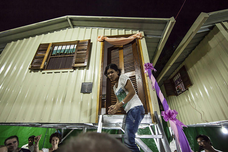 <p>World Housing and the Cambodian Children's Fund teamed up to create a housing system: Local garbage pickers in Phnom Penh rent land for $20 per month from the Fund, and World Housing funds construction of homes.</p>