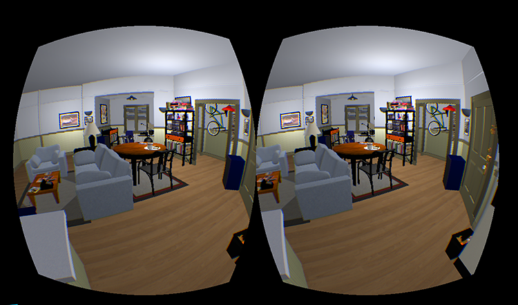 <p>This project recreates Jerry's apartment as an environment you can explore with the Oculus Rift virtual reality headset.</p>
