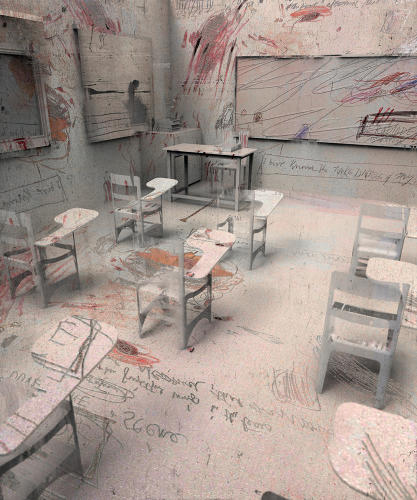 <p>Twombly Classroom, 2013</p>
