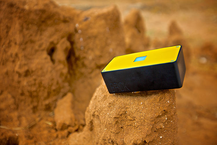 <p>The BRCK, which will begin production in April, works like a backup generator for the Internet.</p>