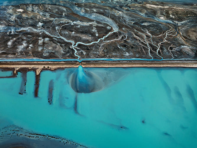 <p>We see irrigated farms in the southern U.S., filthy water in a tannery district in Bangladesh, fishing in the South China Sea, and the water show at the Bellagio in Vegas.</p>
