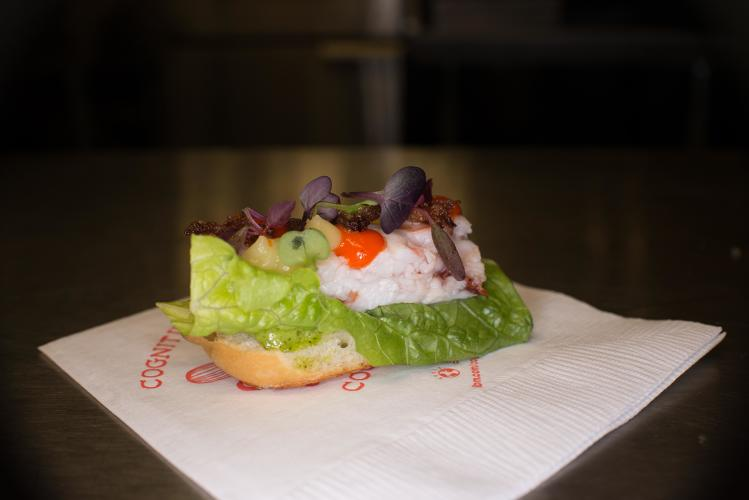 <p>Portuguese Lobster Roll</p>
