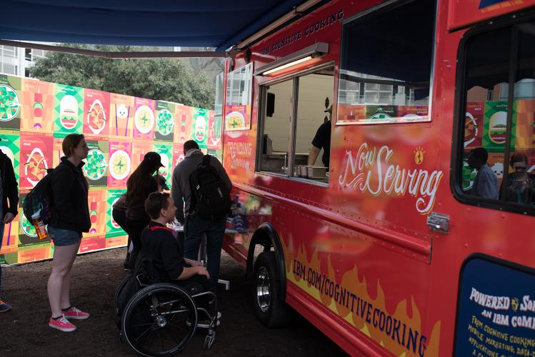 <p>The company revealed the service at SXSW with a food truck that had customers lining up--even in the rain.</p>