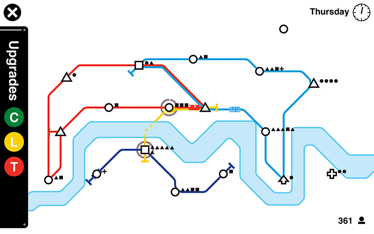 <p>Mini Metro is deceptively simple: Design a system that keeps riders moving. But it's not as easy as it looks.</p>