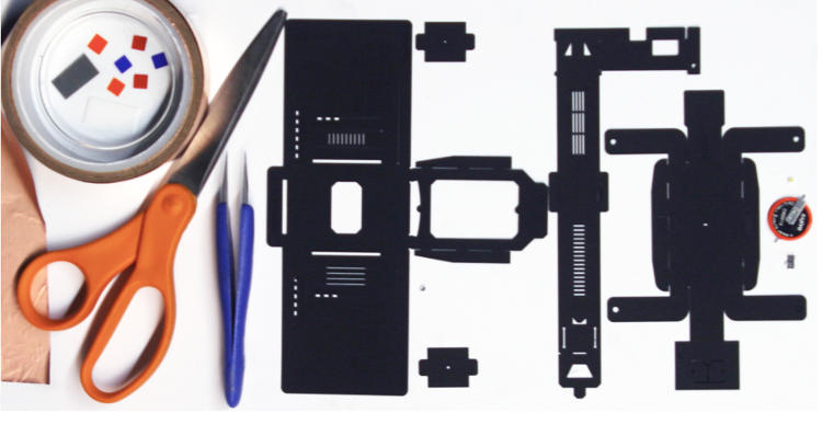 <p>Their answer is the Foldscope, a kind of microscope constructed out of greeting card paper, a watch battery, and a cheap lens that can diagnose roughly 20 infectious diseases, including malaria.</p>