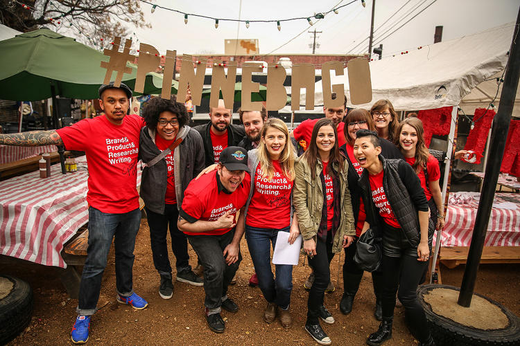 <p>Instead of flying to SXSW from San Francisco, the team would drive and have events along the way, like this one in Austin.</p>