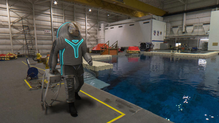 "<p>""There are a lot of fundamental design differences between developing a microgravity suit versus a planetary walking suit,"" says Bobby Jones, an engineer for ILC, the company that worked on the new design.</p>"