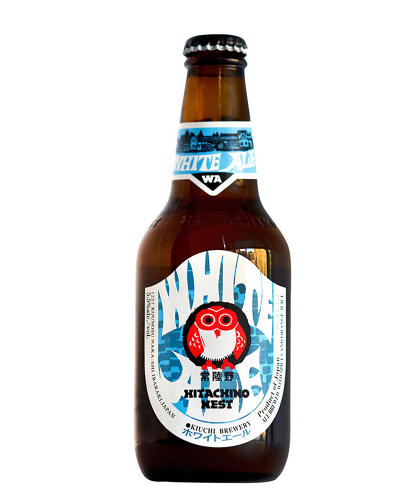 <p>To Glaser, the Hitichino White Ale label subverts Japanese design expectations that everything should be in its right place, which he &quot;supposes&quot; is the point.</p>