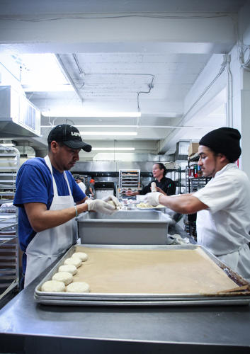 <p>The company now has eight resident chefs and close to 20 independent chefs--all of whom work out of its 5,600-square-foot industrial kitchen in the Mission district.</p>