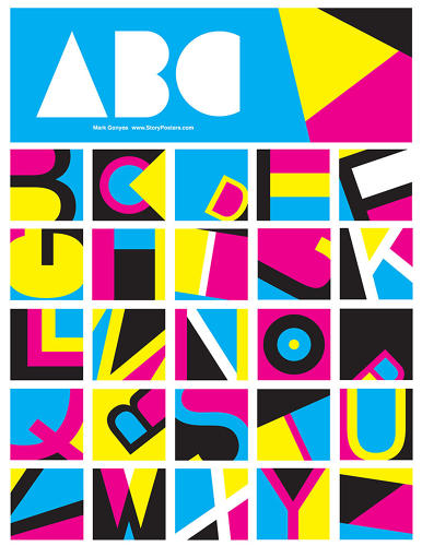 <p>There's also ABCMYK, which is a fun, CMYK-abstracted alphabet.</p>