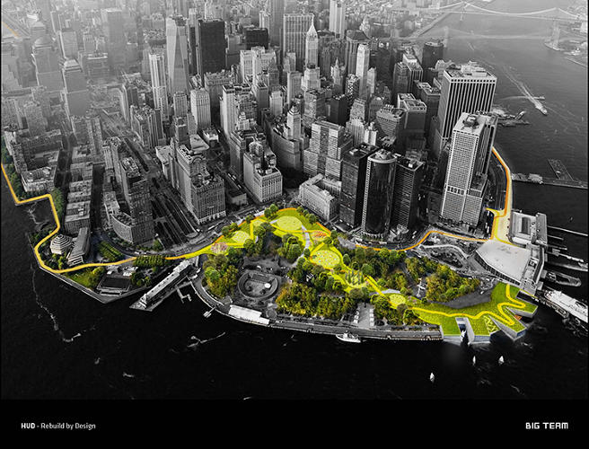 <p>Could parks form a protective barrier around Manhattan to stop flood damage?</p>