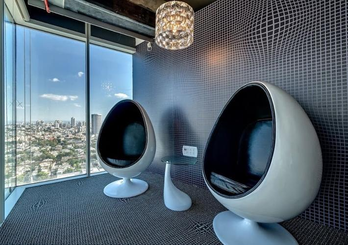 <p>And, of course, there are Space-Age egg chairs.</p>