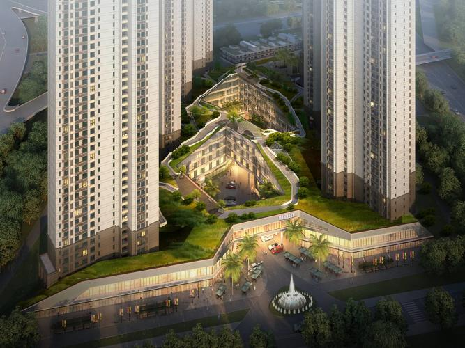 <p>In Xiamen, China, NL Architects has created an urban shopping center that challenges your sense of perspective.</p>