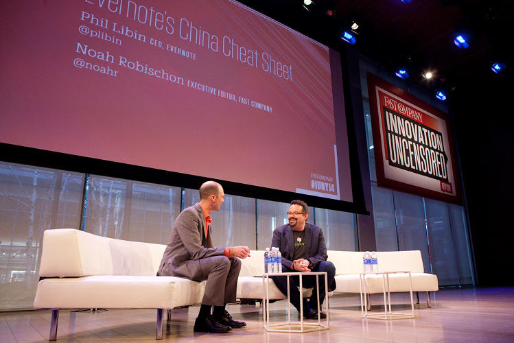 <p>Evernote's Phil Libin went through the series of deliberate decisions he made when expanding into China. &quot;We can't make something globally great in California, we need China,&quot; he said.</p>
