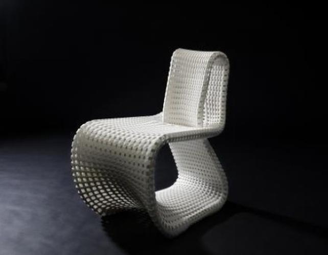 <p><a href=&quot;http://www.bernotat.eu/&quot; target=&quot;_blank&quot;>Anke Bernotat</a> (whose quirky <a href=&quot;http://www.fastcodesign.com/3021067/wanted/oh-my-god-even-the-chairs-are-wearing-hoodies-now&quot; target=&quot;_self&quot;>chair hoodies</a> are covered here) created the Cellular Loop chair during a research project on biomimicry in natural materials. The cantilever chair's construction is similar to that of banana leaf stems and bones.</p>