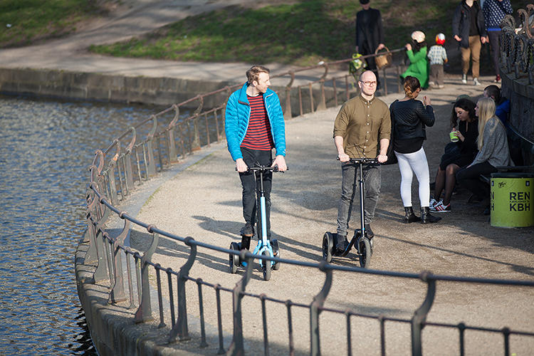 "<p>""The Me-Mover is the first personal active transporter that is really designed for the city.&quot;</p>"