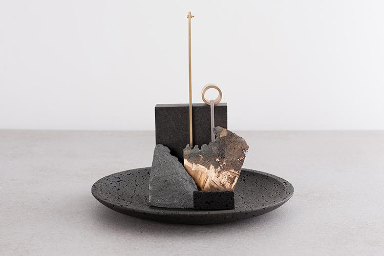 <p>For the De Natura Fossilium collection, they took inspiration from the volcanic Mount Etna in Sicily, Italy, which just erupted last November.</p>