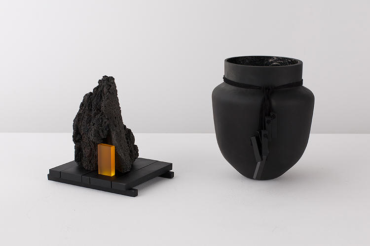 <p>Eindhoven-based, Italian-born design team Formafantasma's latest line is all made from lava.</p>
