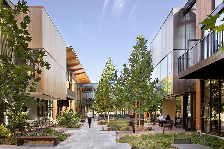 <p>The new building for the Packard Foundation helps bring together employees who used to work at sites scattered throughout the city in one centrally located downtown location near public transportation. <a href=&quot;http://www.ehdd.com/&quot; target=&quot;_blank&quot;>EHDD</a></p>