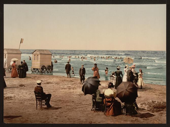 <p>To be fair, when they originally debuted in the 1750s, bathing machines weren't quite as prudish as they ultimately became: In their earliest days, it was still common for men and women alike to swim entirely nude.</p>