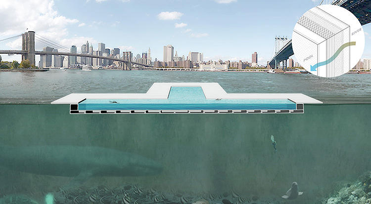 <p>This week, at a meeting held at Kickstarter's East River waterfront headquarters, +Pool announced the next phase of its development, as well as a new feature: A partnership with Google.</p>