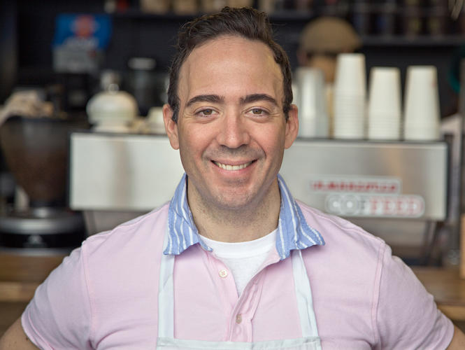 <p>The founder and CEO of COFFEED,<br /> which will open a new location in the lobby of URL Staten Island.</p>
