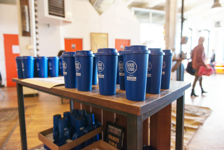 <p>The DO School, a 10-week international social good program, partnered with the Brooklyn Roasting Company to roll out 500 ceramic cup-share mugs.</p>