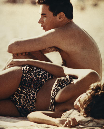 <p>Photographer Aaron Rose spent summers in the early 1960s wandering the crowded sands of Coney Island Beach in New York City.</p>