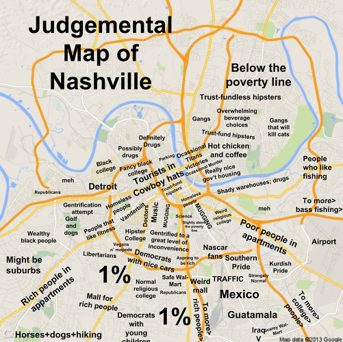 <p>Now he has an entire blog devoted to judgmental maps of other cities, accumulated through submissions.</p>
