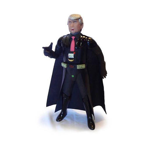 <p>Donald Trump as Darth Vader.</p>