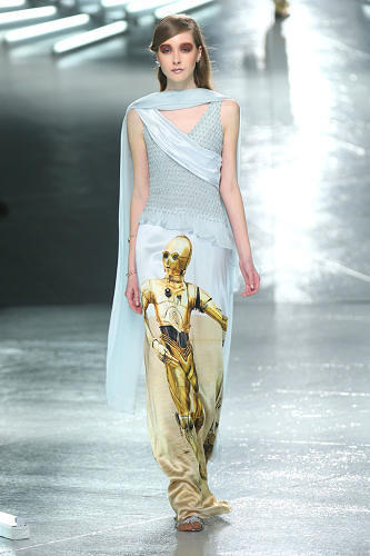 <p>The Rodarte designers are friends of George Lucas, who was a big fan of the collection.</p>