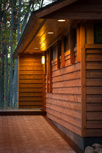 <p>The project started when visitors to a small lakeside resort called Canoe Bay started asking for their own versions of the resort's carefully constructed cabins.</p>