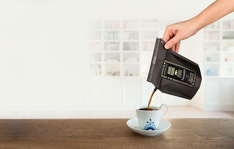<p>Ulrik Skovgaard Rasmussen of the Danish artisan coffee company Growers Cup wanted a way to enjoy a good cup of coffee without any equipment.</p>