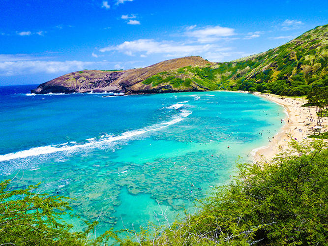 <p>Hawaii is the third most generous state.</p>