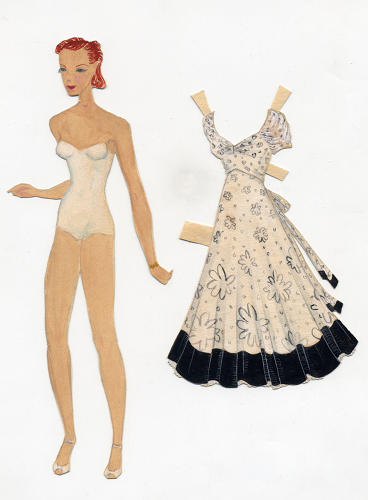 <p>When Ray was as young as three years old, she was making her own paper dolls with different outfits and accessories. That childhood hobby would influence how Charles and Ray created their catalogs.</p>